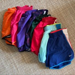8 pairs of Nike Dri-Fit Running/Athletic Shorts